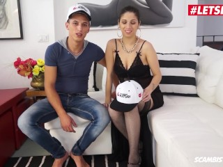 LETSDOEIT - Horny Italian Milf Gets Ass Fucked By Young College Stud