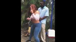 Huge! Big Black Dick Flash in Public Bus Stop - Free Porn Videos ...