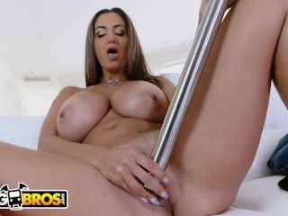 BANGBROS - MILF Ava Addams Caught By Step Son Using Vacuum Cleaner For Pleasure