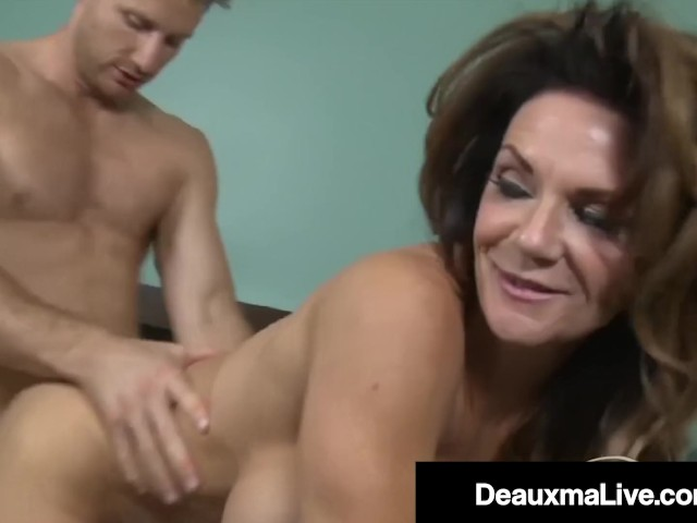 Stepmom Takes Young Cock