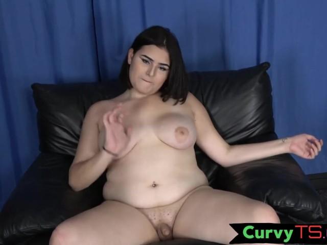 Transgender Bbw Beauty Wanking and Tugging