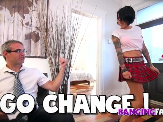 Banging Family - Punkette Babe Fucked by Step-Dad