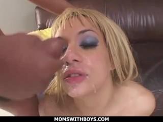 MomsWithBoys – MILF Blonde Tatiana Stone Taking Hard Anal