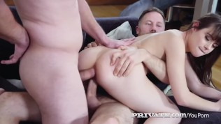 Privatecom – Teen Luna Rival Double Fucked By 2 Cocks!
