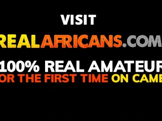 Real African Amateur Teen Couple