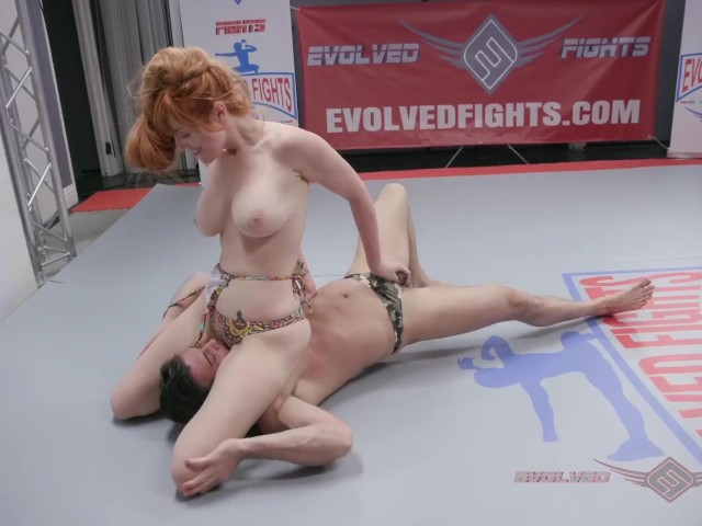 Lauren Phillips Naked Wrestling and Anal Sex With Lance Hart