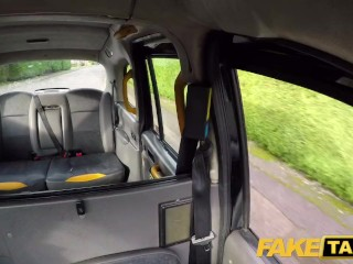 Fake Taxi Busty hot cock hungry cheating girlfriend fucked in cab
