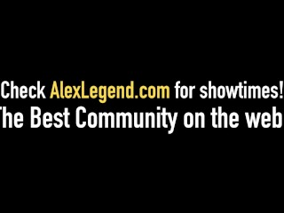 Super Cute Nickey Huntsman Gets Cum Bath From Alex Legend!