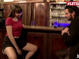 LETSDOEIT - Horny Teen Luna Rival Double Teamed At The Local Bar