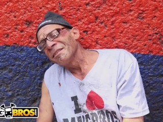 BANGBROS - Derelict Porn Legend Rescued From Streets, Fucks Gaby Garcia!
