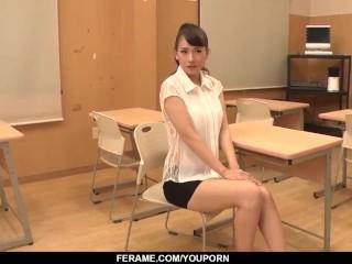 Shy Yui Oba gangbang oral sex and premium bukkake - More at javhd.net