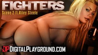 Digitalplayground – Big tit blonde pornstar Riley Steele's gets her tight teen pussy covered with cum