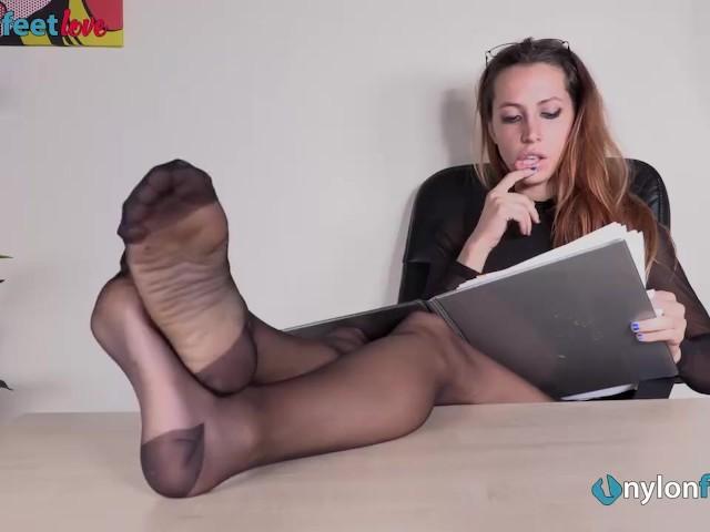 Russian Mistress Under Feet