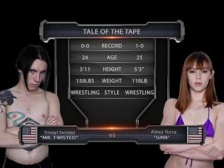 Alexa Nova wrestling babe ass fucked after rough loss