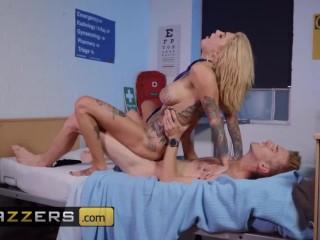 Brazzers – Big dick Doctor ass fucks inked slut Bonnie Rotten