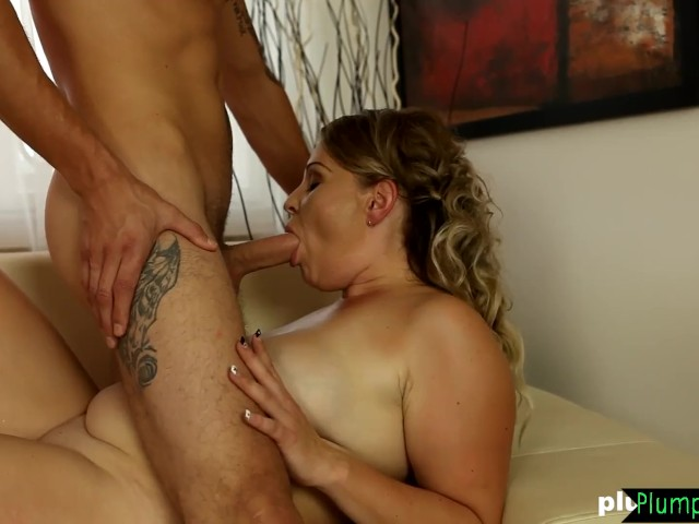 Thick Mature Beauty Sucking Younger Guys Cock