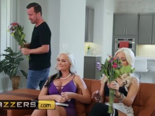 Brazzers - Big tit blonde milf Alena Croft gets fucked by younger man