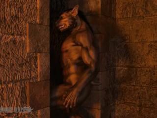Werewolves chain & pound Elf Princess. Animated 3D xxx video