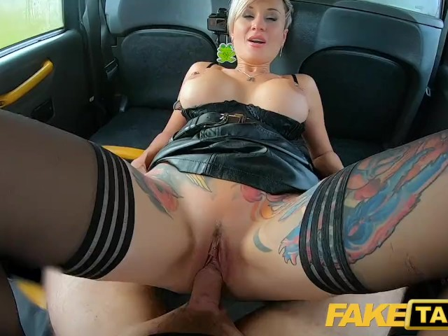 Blonde Big Tits Fake Taxi