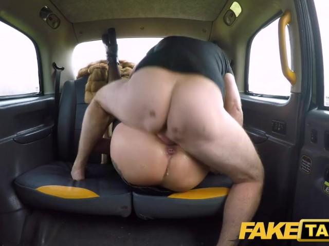 Fake Female Taxi Blonde