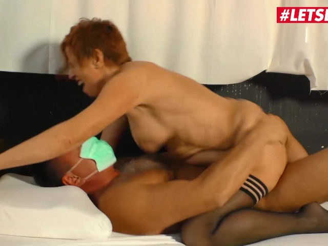 Letsdoeit - Horny German Granny Fucked Hard at the Doctor's Office