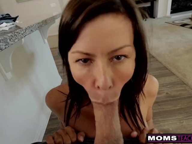 Spying Step Mom Changing