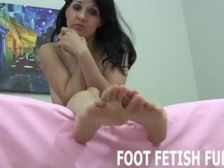 Foot Fetish And POV Femdom Girl Porn