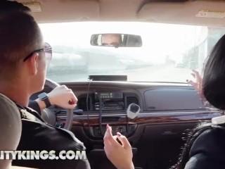 Reality Kings - Two latina Pornstars Gina Valentina & Victoria June share big white cock