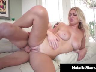Sexy Polish Pornstar Natalie Starr Fucked By Camera Man!