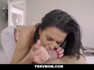 PervMom – Horny Stepmom Teachers Her Stepson A Hard Fucking Lesson