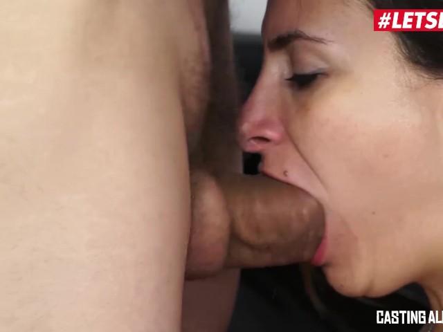 Letsdoeit - Kinky Italian Milf Ass Drilled at Casting