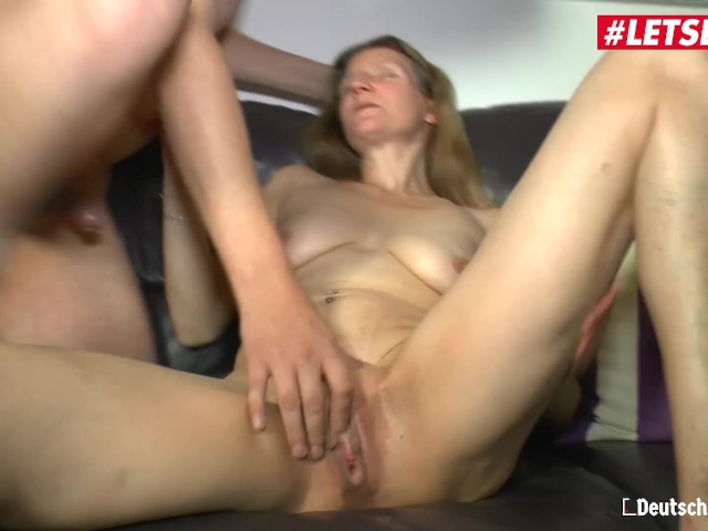 Letsdoeit - German Slutty Gilf Loves Riding Cock