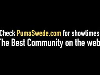 Busty Blonde Puma Swede & Jennifer Dark Get Cock & Hot Cum!