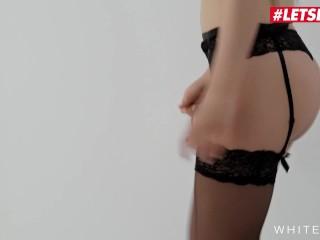 LETSDOEIT - Super Hot Teen Blonde Cums Hard On Lutro's Big Cock