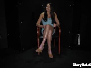 Brunette/cum/and love cum slender sexy