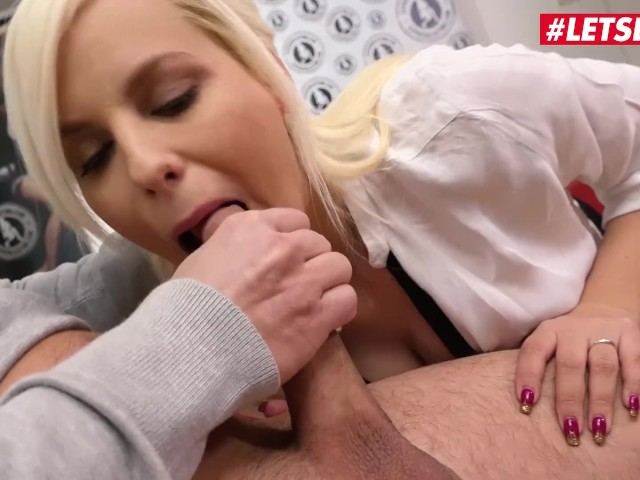 Blonde Teen Masturbating Car
