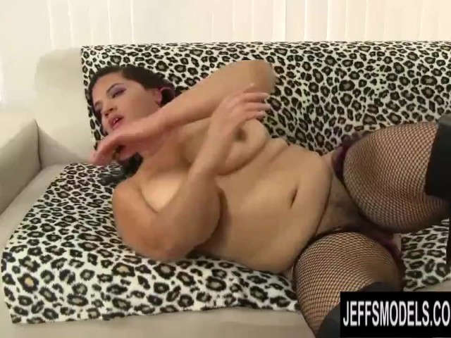 Big Tits Latina Bbw Lady Spice Has Her Hairy Pussy Stretched