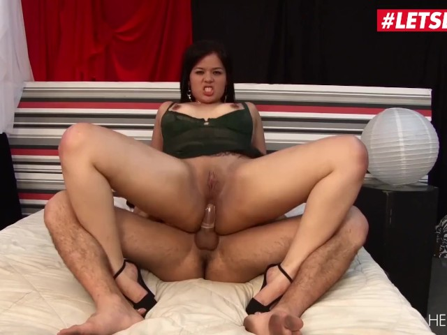 Letsdoeit - Chubby Brunette Latina Gets Super Fucked