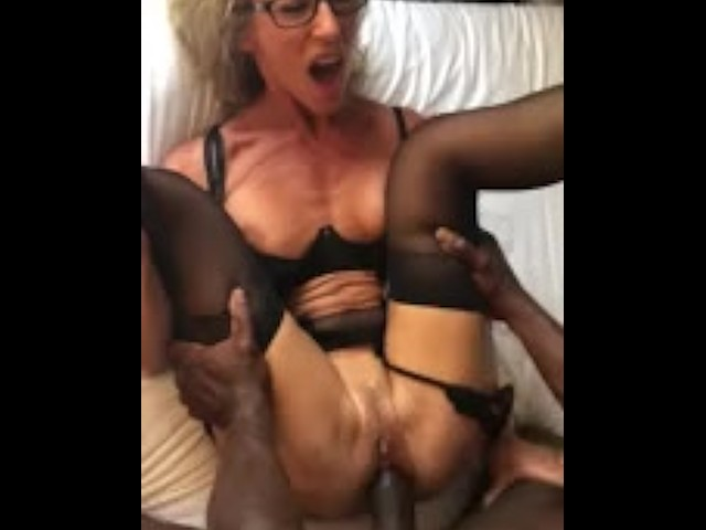 Wife Gets First Big Black Cock