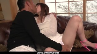 Top Japanese porn on the couch with Miku Ohashi - More at javhd.net