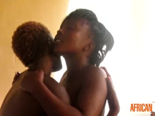 Authentic African Lesbian Couple EXPOSED