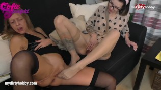 MyDirtyHobby - Milf step mom does lesbian with step daughter