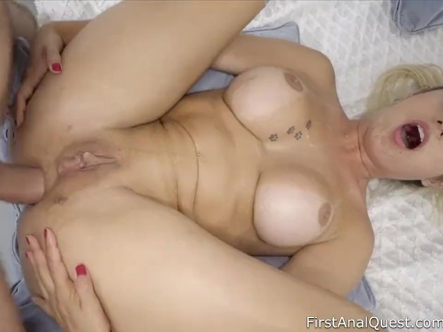 Huge Cock First Time Anal