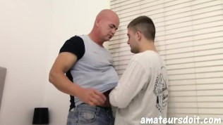 AmateursDoIt - Amateur stud fucks cute young guy after swapping oral