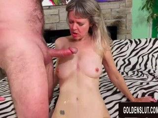 Amazing Horny milf Sex with Blistering British Granny Jamie Foster
