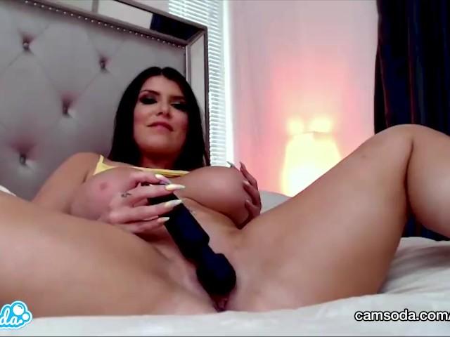 Pretty Girl Masturbates Orgasm