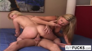 Busty Gia Paloma and James Deen stop by Avys house for a hard lesson in hard fucking