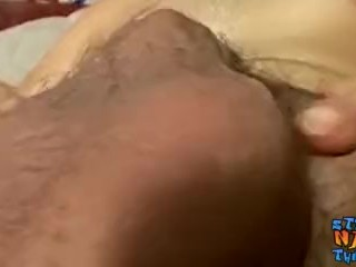 Cute straight guy passionately jerking off and cumming