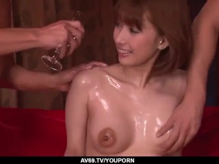 Tiara Ayase fucked a lot in insane xxx scenes - More at 69avs.com
