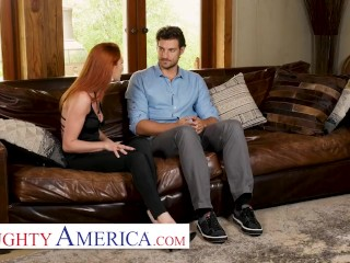 Naughty America - Lacy Lennon cheats on her husband with his employee